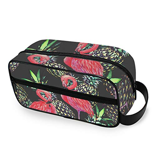 Outils Cosmetic Train Case Storage Maquillage Sac Portable Flamingo Pineapple Toiletry Pouch Box Travel