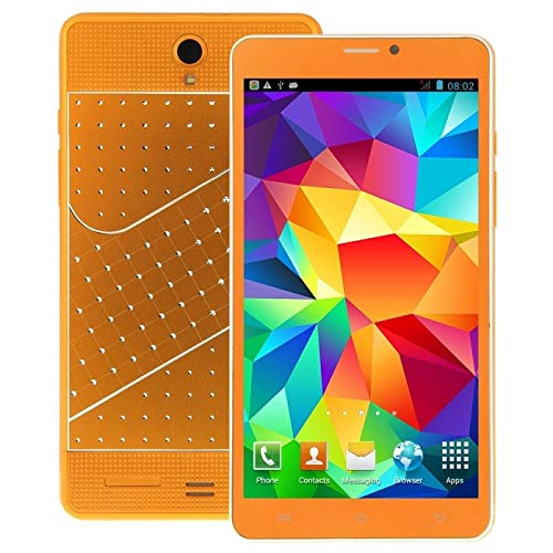 MDLIX TSN AYS Fagot K3000 PC de la Tableta de 8 GB, 7 Pulgadas Android 4.4, Dual SIM, WCDMA, GPS (Negro) (Color : Orange)