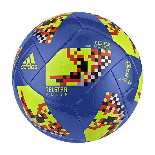 adidas FIFA Weltmeisterschaft Knockout Glider Fútbol, Hombre, Color Azul/Negro, 3