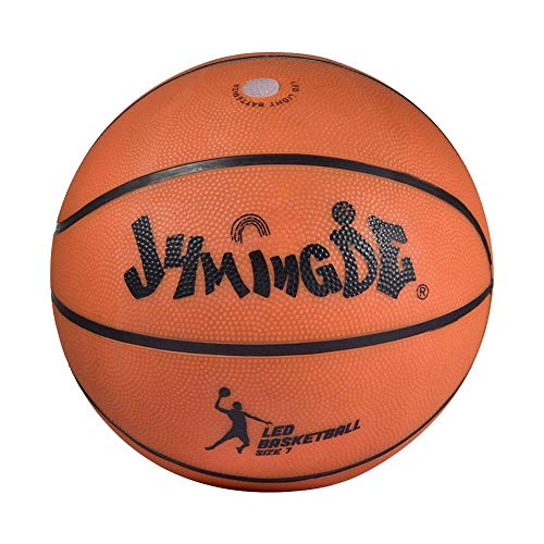 Find Discount astolily LED Light Up Basketball High Brightness Growing Rubber Basketball for Trainin...