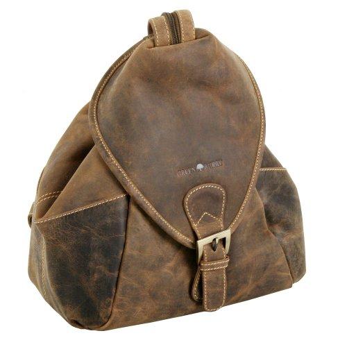 Greenburry Vintage Rucksack Leder 28 cm