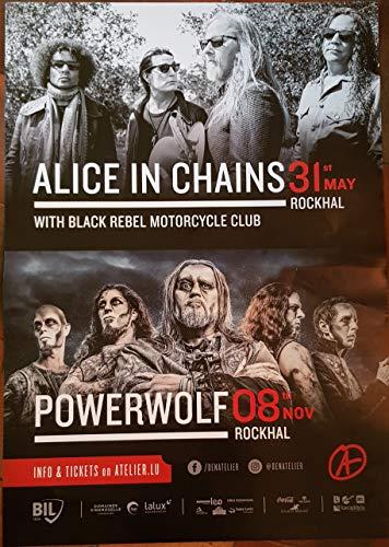 Poster, Motiv Powerwolf, 2019-60 x 84 cm