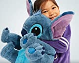 DS Disney Store Lilo & Stitch 58cm Peluche Originale Pupazzo Grande Gigante