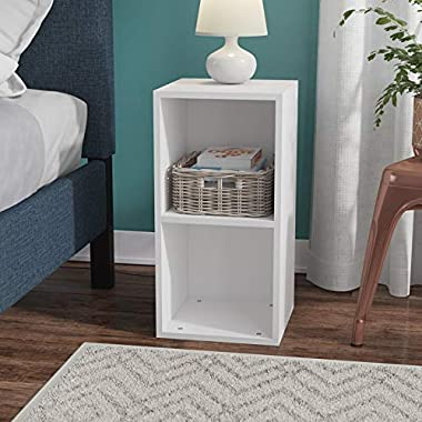 HEERA MOTI CORPORATION Arrow Engineered Wood 2 Cube Storage Box/Cabinet/Open Storage (Finish:- pre-Laminated Matte)