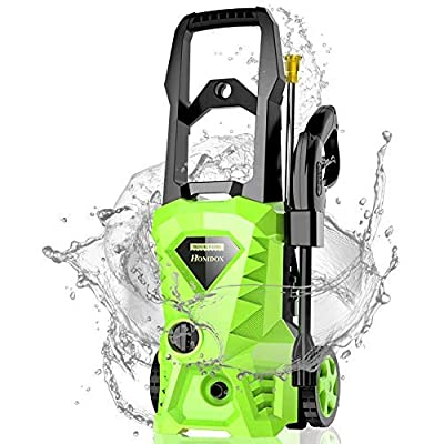 Pressure Washer, Power Washer with 2500 PSI,1.6GPM, HD5218 with 4 Nozzles Foam Cannon,Best for Cleaning Homes, Cars, Driveways, Patios