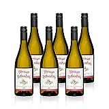 Weißer Burgunder - Ihringer Fohrenberg 2016 | Weißwein aus Deutschland | Trocken & Weiß | WBK Glatt | Fruchtig Pikant im Geschmack (6x 0,75l)