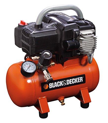 BLACK+DECKER 1800 Compressore da 6 litri