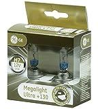 GE General Electric H7 MegaLight Ultra 130 PX26d 58520XNU Autolampe Leuchte Scheinwerfer Abblendlicht Halogen 2 x Lampen