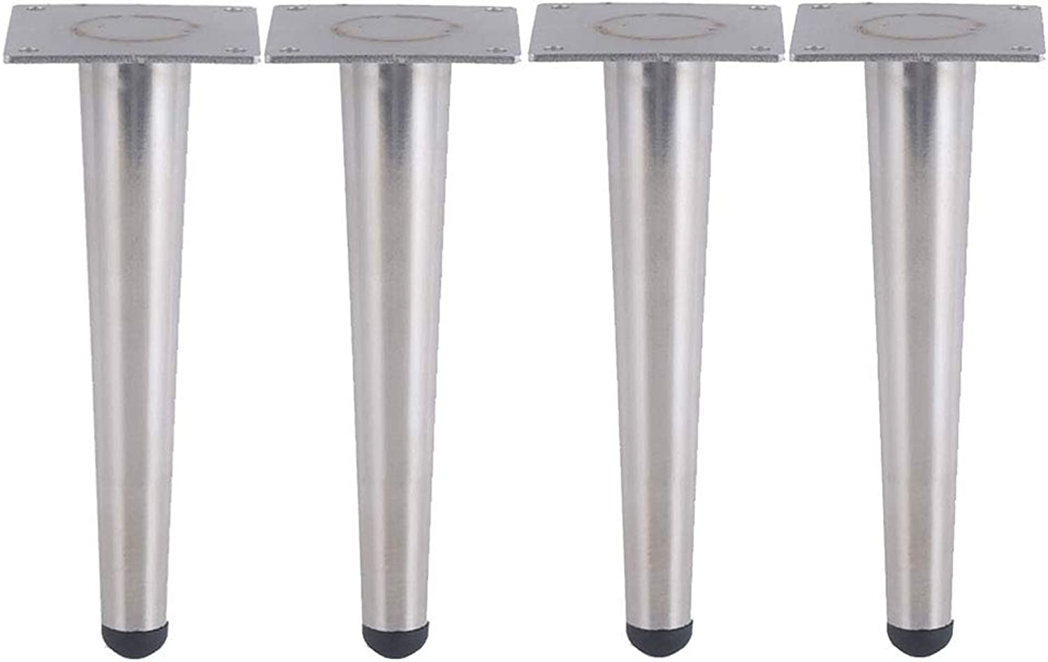Stainless Steel Sofa feet Table Legs Cabinet feet, Support Furniture Hardware Accessories, 1 Piece  4 Pieces, Silver