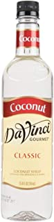 Da Vinci Classic Coconut Syrup, 25.4 Ounce