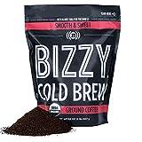 Bizzy Organic Cold Brew Coffee   Smooth & Sweet Blend   Coarse Ground Coffee   2 LB