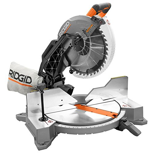 Ridgid ZRR4122 12 in. Dual Bevel Compound Miter Saw with Laserguide (Renewed)