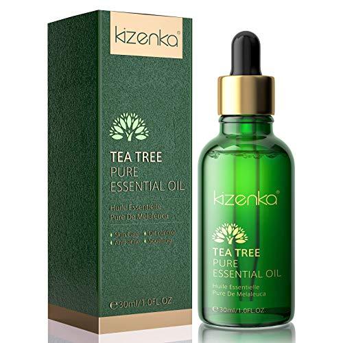 Olio Tea Tree, Olio Essenziale Albero del Tè Naturale Olio Essenziale Tea Tree per il viso Trattamento Naturale per Anti-acne e Brufoli 30ML