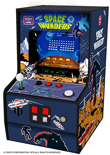 CONSOLA RETRO ARCADE MICROPLAYER SPACE INVADERS