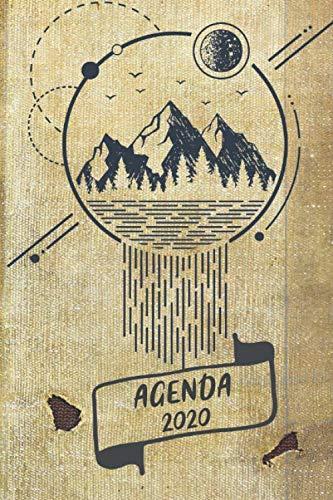 Agenda 2020: semainier - Calendrier petit format - page hebdomadaire et mensuel -  janvier à décembre 2020 - Planificateur et Organiseur