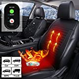 ASTRYAS 12V / 24V Seat Cushion Cover - Universal Seat Warmer with 3 Levels Safety - Auto Shutoff Heating Setting,...