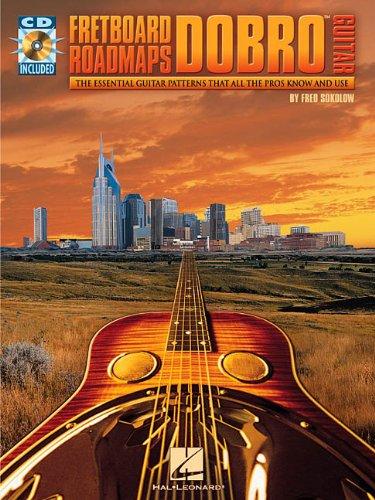 Fretboard Roadmaps Dobro Guitar (Book / CD): Noten, CD für Gitarre (Fretboard Roadmaps S.)