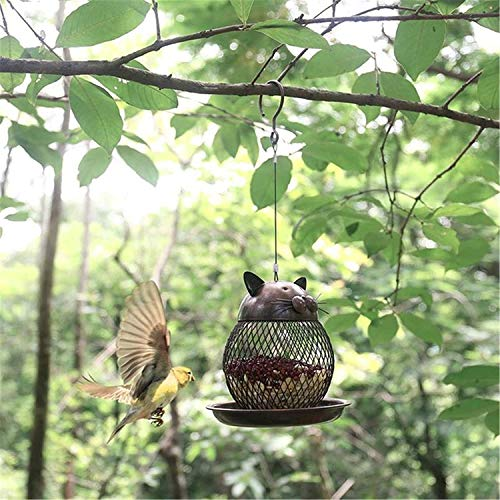 """GRANDE 18/"""" struttura in metallo facile riempimento Wild Bird Seme Alimentatore Garden bird amante regalo"""