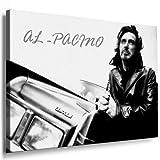 Al Pacino Leinwand Bild 100x70cm k. Poster ! Bild fertig