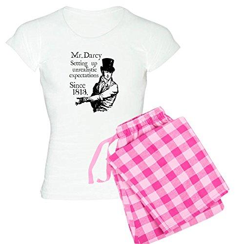 CafePress Mr. Darcy Womens Novelty Cotton Pajama Set, Comfortable PJ Sleepwear