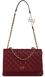 GUESS Womens Handbags, Red (Merlot) - VG743621