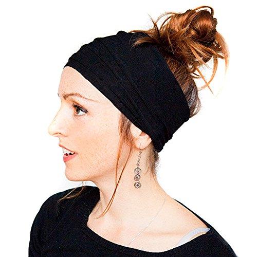 Butterme Multicolor Teens Frauen-Mädchen-elastische Stirnband Stirnband -Kopf-Verpackung Sweat Wicking Stirnband für Sport oder Mode, Yoga oder Reise