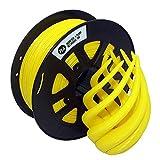 Filamento PLA 1,75 Mm PLA Amarillo, Filamento PLA para Impresora 3D, 1 KG 1 Carrete (PLA Amarillo)
