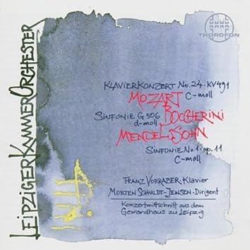 Boccherini, Mozart, Mendelssohn