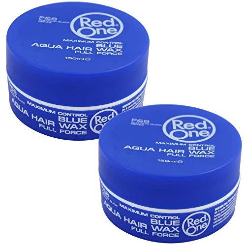 2 x Red One Blue Aqua Haarwachs, 150 ml