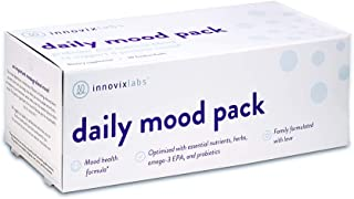 InnovixLabs Daily Mood Pack. Six Mood-Support Nutrients in One Convenient Pack. A Novel Combination of Probiotics, Omegas,...