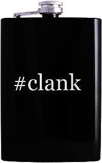 #clank - 8oz Hashtag Hip Alcohol Drinking Flask, Black