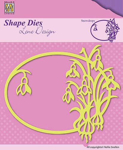 Nellie's Shape Dies Stanz- und Prägeschablone SDL014,