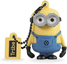 Tribe, Despicable Me, Minions,16GB Flash Drive 2.0 Memory Stick Keychain, Minion Bob