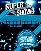 SUPER JUNIOR WORLD TOUR SUPER SHOW4 LIVE in JAPAN (Blu-ray3枚組) (初回生産限定)