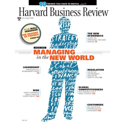 Harvard Business Review, July 2009 audiobook cover art