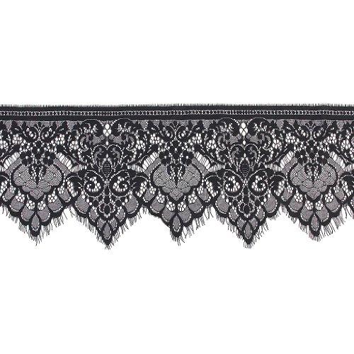 Unbekannt Lace Spitze BORTE DIY sticheln Spitze Stoff für DIY Kleid 3 Yard 19-25cm