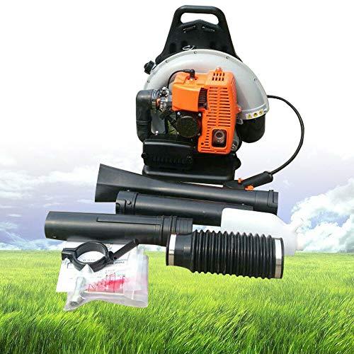 OUKANING Benzin Laubbläser 2.7KW R 65CC 2 Takt rückentragbar Rückenlaubbläser Laubgebläse Laubsauger