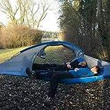 ShiXuan Ultraleicht Camping Baum Hängemattenbett Outdoor Wandern Reisen Baum Zelt DREI Bäume Hängezelt Familie multifunktionale Zeltbett