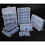 XuBa - Contenedor de plástico para herramientas y componentes electrónicos