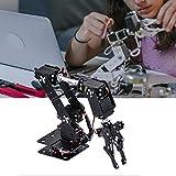 Naroote 【𝐇𝐚𝐩𝐩𝒚 𝐍𝐞𝒘 𝐘𝐞𝐚𝐫 𝐆𝐢𝐟𝐭】 Braccio Meccanico Kit, Artiglio Pinza Braccio Meccanico Robot, 6 Parti Robot industriali manipolatore DOF