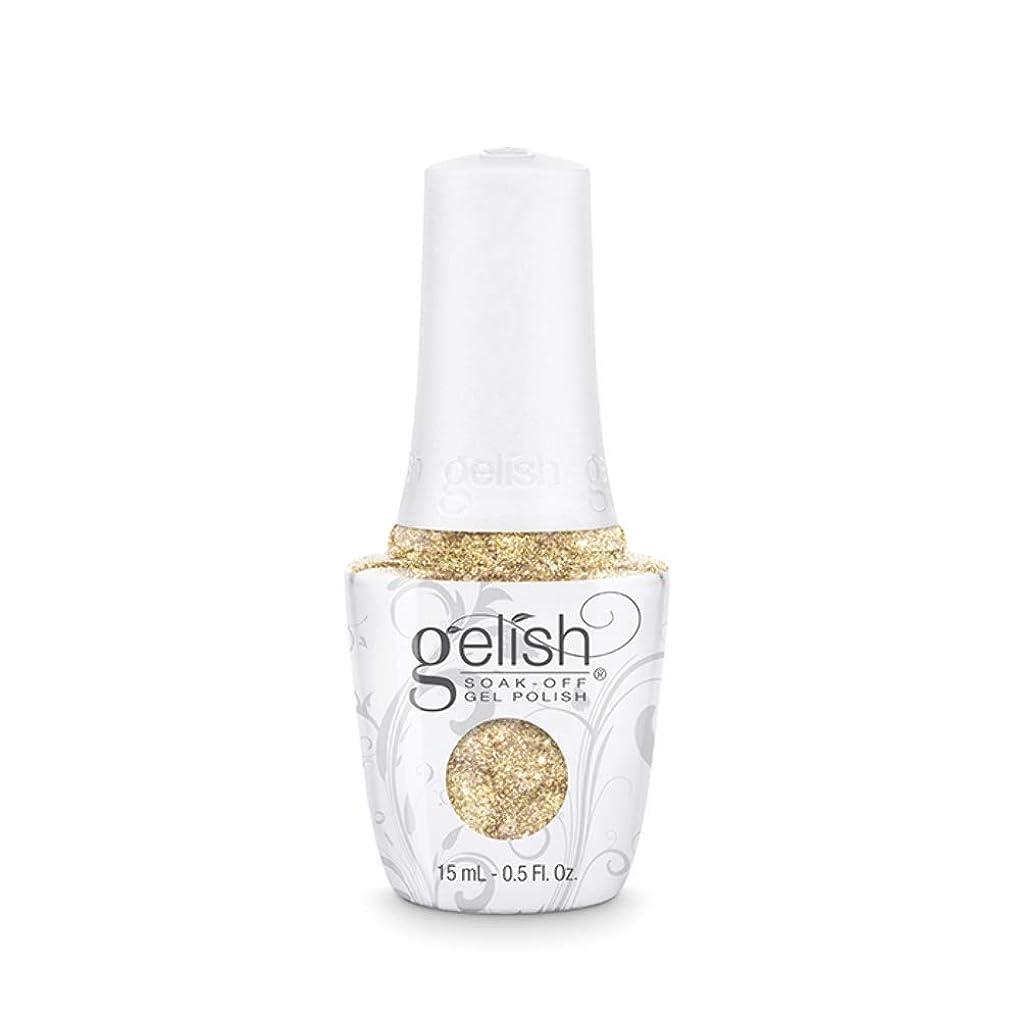 メッセージぞっとするような蒸留Harmony Gelish - Golden Treasure - 0.5oz/15ml