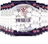 TXSAGL Bolas de probador de Polilla Natural, Fragancia Desodorante para inodoros Repelente de Hongos y guardarropa, 6 Paquetes