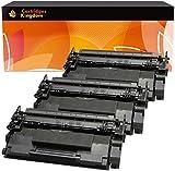 Cartridges Kingdom Kit 3 Toner Compatibili per HP CF287A 87A   HP LaserJet Enterprise M506dn M506n M506x MFP M527c M527dn M527f M527z M501dn M501n