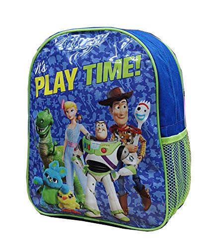 Official Licensed Kids Boys & Girls School Backpack with Side Mesh Pocket (Toy Story)