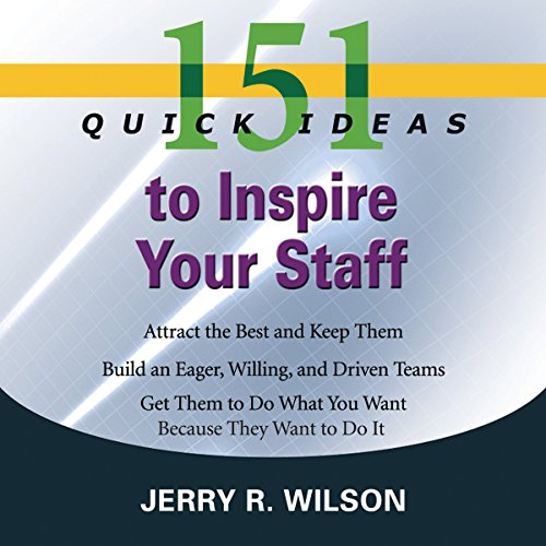 151 Quick Ideas to Inspire Your Staff cover art