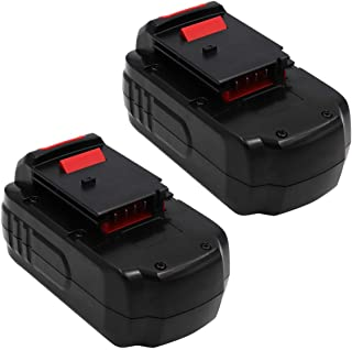ETSUSA Porter Cable PC18B-2 Battery Replacement Compatible with Porter Cable PC18B-2 18-Volt Cordless Tools Batteries (Upgraded 3500mAh)