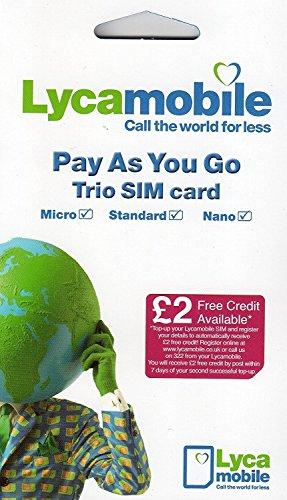 Laycamobile trio sim card