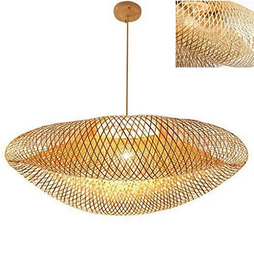 Deckenleuchte aus Metall in Kupferfarben Extravagante Lampe auffälligem Schirm Lichteffekten an der Decke E27 Fassung Zimmerlampe Wohnzimmer Flur Dielen Schlafzimmer Dekoration Rattan Kronleuchter,M