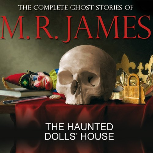 The Haunted Dolls' House audiobook cover art