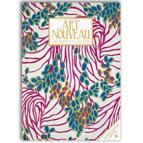 Art Nouveau Gift Wrap Collection